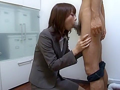 Hottest Japanese chick Natsume Inagawa in Exotic JAV scene