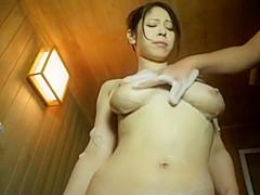 Hottest Japanese whore Minami Ayase in Horny Couple, Shower JAV clip
