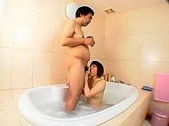 Fabulous Japanese model Yuka Osawa, Ringo Akai, Saya Namiki in Best Shower, Small Tits JAV clip