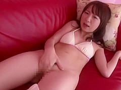 Crazy Japanese chick Hitomi Fujiwara in Fabulous Teens, Masturbation JAV movie