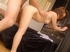 Exotic Japanese girl Rui Natsukawa in Horny Small Tits, POV JAV movie