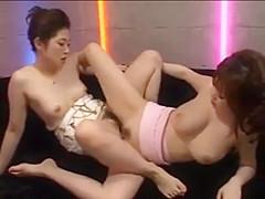 Rio Hamasaki and friend. Rio is so feminine and sexy. Amazing breasts.
