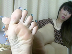 SC shoes and long toes tease