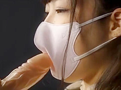 JAPANESE GIRLS WEAR MEDICAL MASKS AND KISS CAMERA FOR YOU PART 1