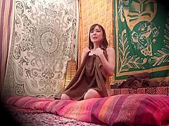 【吉川あいみ】爆乳お姉さんが言葉の分からないタイ人のタイ式マッサージで強引にマッサージされ感じてしまいセックスしてしまう