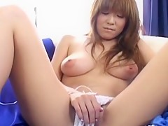 Aya Sakaki Uncensored Hardcore Video with Masturbation, Facial scenes
