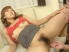Fabulous Japanese whore in Hottest JAV censored Fingering, Small Tits video