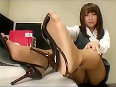 Share nylons masturbation japanese office remarkable
