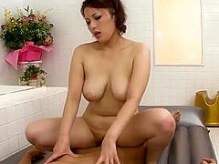 Busty milf Meisa Hanai amazing sex - More at 69avs.com