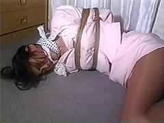 Japanese Girl Struggles