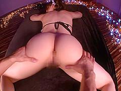 Rio(Yuzuki Tina) is humiliated good shaped ass persistently 02