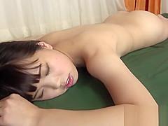 【富永綾】全裸でオイルマッサージを受けて少し感じてうようなイメージビデオ