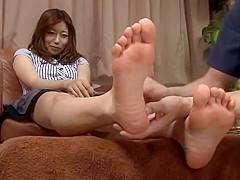 Jap Footjob 3 :)