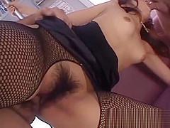 Misato Kuninaka loves having sex in public places