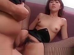 Uncensored Japanese Misato Kuninaka gangbang