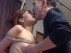 Subtitled CMNF Japanese BDSM nose hooks and more