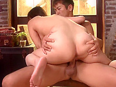 Wakaba Onoue severe sex in crazy modes - More at Japanesemam