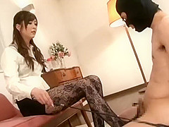 japanese footjob heels 7