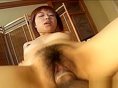 Miyuki Fujino Lovely Japanese babe who enjoys going for cock rides