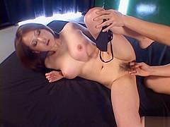 Hot Asian model has big tits