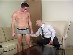 Hot gay foot and cumshot