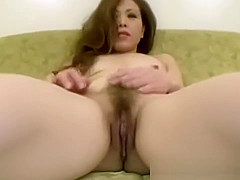 Horny asian milf sucks lucky cock before oral