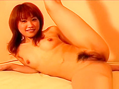 Cute asian babe masturbating her amazing part6
