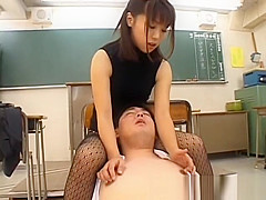 Bunko Kanazawa Naughty Asian teacher part1
