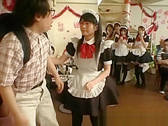 Petite asian maids gets punished