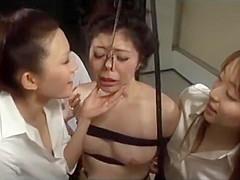 Asian Lesbian Bondage Orgy
