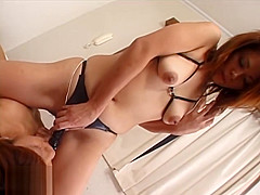 Uncensored Japanese GirlGirl Strapon Dildo Sex