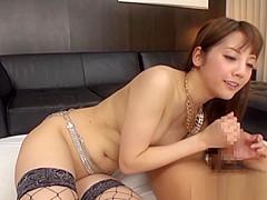 Maeri Konno amateur babe enjoys hardcore action and pov sex