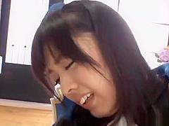 【藤井有彩】黒ガーターストッキングにアイドル風コスのお姉さんとセックス