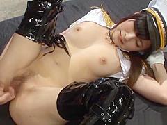 【北野のぞみ】サイハイブーツを履いたお姉さんが激しいピストンで膣奥を突かれると、艶っぽい表情で乱れまくる