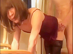 Amateur Japanese shemale group sex homemade
