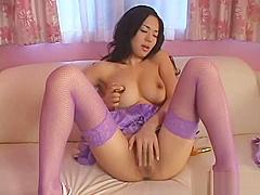 Sora Aoi Japan Pornstar Play With Violet Dildo VIOJAV.COM