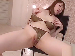 Stud is ravishing japanese babe'_s perky big love melons wildly