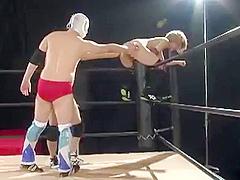Big Breasts Heel Women'_s Pro Wrestler Raiden Mao 2 Rebuke Frenzied Frustrated! Anal Cum Shot Deathmatch! It Is!