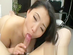 Kaho Itou - Japanese Cougar Pleasing Her Pussy With Toys And Cock