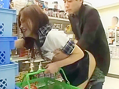 japanese girl fucked in shopping mall in public area