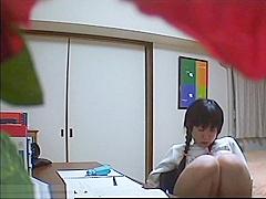 Teen Schoolgirl has sex and is cough by a hidden cam