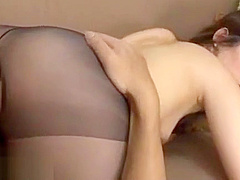 Japanese beauty in pantyhose dream sex
