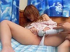 Japanese Skank Gets Fingered