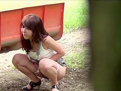 Weird japanese pee park