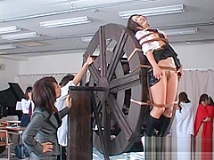 Japanese Girl Is Bound And Stripped Naked