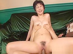 Delightful Asian blowjob