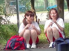 Naughty asians fingering
