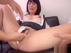 Office sex turns her on