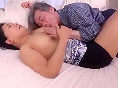 Japanese Mature Vs Big Cock