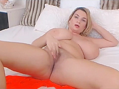 Teen with massive boobs